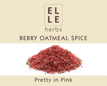 Berry Oatmeal Spice